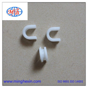 White Plastic U Clip with Ios SGS