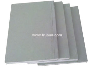 Smoothness Ivory Color Standard Gypsum Plaster Board