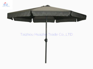 9 Ft (2.7m) Crank Umbrella with Flap Patio Umbrella Garden Umbrella Outdoor Umbrella Garden Parasol - Outdoor Parasol pictures & photos