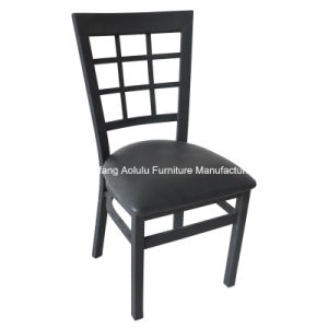Restaurant Dinging Chair and Cafe Chair with Window Back (ALL-72)