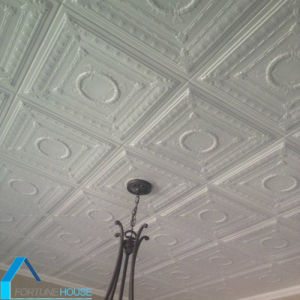Styrofoam/Polystyrene Metal False Decorative Indoor Ceiling pictures & photos