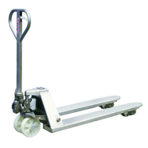 Stainless Steel SUS316 Hand Pallet Jack for Corrosion Resistant Application pictures & photos
