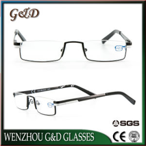 Latest Design Fashion Metal Reading Glasses with Case pictures & photos