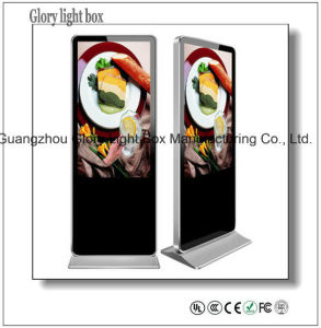 Wall-Mounted or Self-Standing Digital Menu Restaurant Ad Panel pictures & photos
