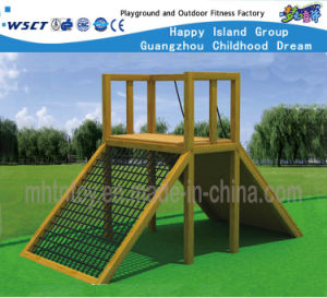 Outdoor Gym Wooden Climbing Exercising Equipment Hf-17601 pictures & photos