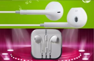 in-Ear Colorful Earbuds Headphone Headset with Remote & Mic for Cellphone