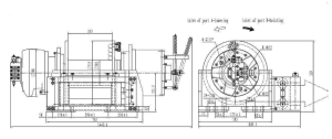 Ini 250kn 25 Ton Hydraulic Recovery Winch Truck Winch pictures & photos