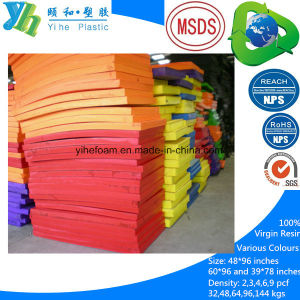 Various Colors and Sizes Crosslinked PE Foam Sheet pictures & photos