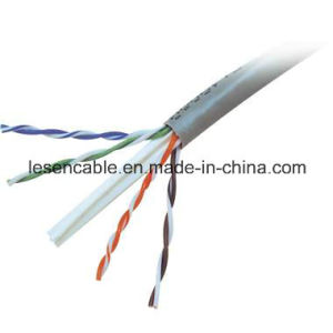 CAT6 UTP Network Cable with 23AWG, Copper or CCA Conductor pictures & photos