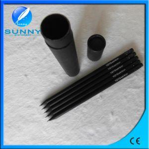 Eco-Friendly Black Wooden Hb Pencil pictures & photos