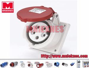 16A 3p+N+PE IP44 Industrial Socket (MN1531)