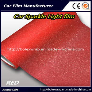 Red Sparkle Shining Car Light Film/ Headligh Film/Tail Light Tint Tail Lamp Film 0.3*9m pictures & photos