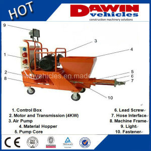 Hot Semi-Automatic Mortar Concrete Spraying Pump Plastering Machine pictures & photos