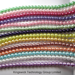 Fashion Imitation Pearl Strands Beads, Loose Glass Pearl Beads Strand, Jewelry Findings Glass Pearl Beads pictures & photos