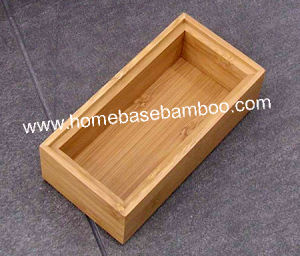 Bamboo in Drawer Storage Box Tray (Stackable Box) Hb5003 pictures & photos