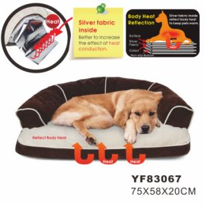 Soft Cozy Sofa Bed Luxury Pet Dog Beds (YF83067) pictures & photos