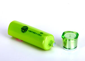 Whitening Cleanser Pearlized Plastic Tube Packaging with Pearlized Cap pictures & photos