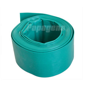 6 Inch PVC Agricultural Water Discharge Rubber Layflat Hose pictures & photos
