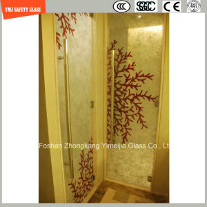6mm-20mm Safety Laminated Glass with Fabric/Leather Interlayer with SGCC/Ce&CCC&ISO Certificate for Home and Hotel Decoration and furniture pictures & photos
