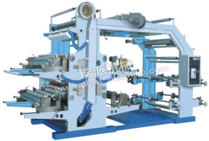 Ruipai Brand 4 Colours Flexo Plastic Bag Printing Machinery pictures & photos