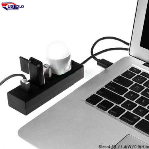 5 in 1 Interface USB Hub for Promotional Gift High Speed 4 Ports USB3.0 Hub pictures & photos