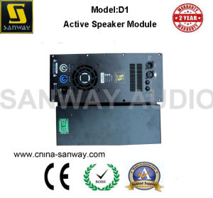 Digital 450W 500W 1 Channel Active Powered Amplifier Module pictures & photos