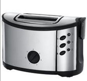 850W 2 Slice Stainless Steel Toaster (WT-888) pictures & photos