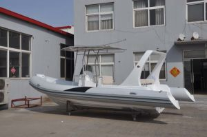 Liya 22FT China Fiberglass Folding Rib Boat for Fishing (HYP660) pictures & photos