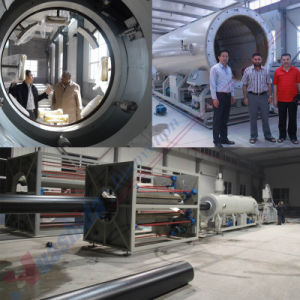 PE Thermal Insulating Pipe Jacket Pipe Extrusion Line (855-1380mm) pictures & photos