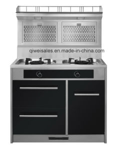 Integrated Cooker with Double Gas Stove (JCJZ-90A) pictures & photos