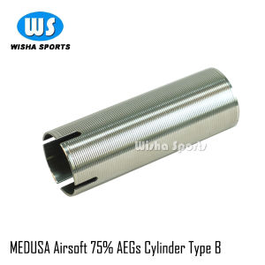 Medusa Airsoft Stainless Steel Aegs 75% Cylinder Type B pictures & photos