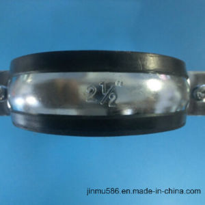 Plumbing Pipe Clamps with Rubber (21/2′′) pictures & photos