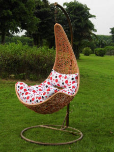 Garden Furniture Rattan Hanging Swing Chair (FH-001)
