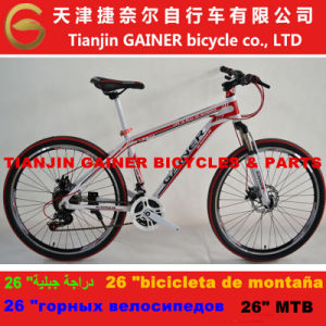 "Tianjin Gainer 26"" Aluminum MTB Bicycle 21sp Stable Quality pictures & photos"