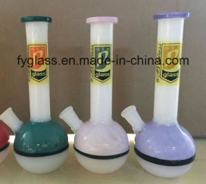 American Colored Glass Smoking Water Pipes for Tobacco pictures & photos
