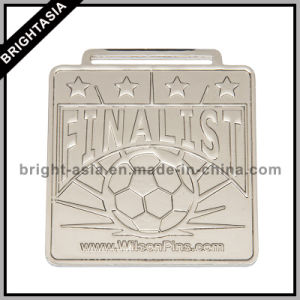 2015 Award Sports Souvenir Metal Medal with Ribbon/ Football Sports Medal (BYH-10846) pictures & photos