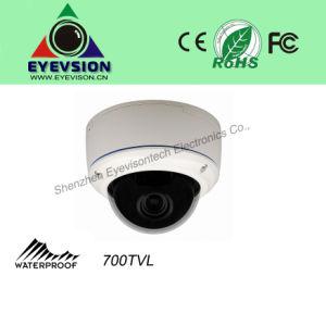 "1/3"" Effio CCD Camera 700tvl CCTV Dome Security Camera (EV-673N35D) pictures & photos"