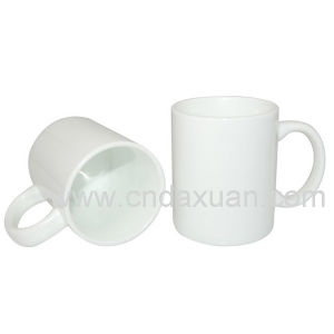 White Coffee Ceramic Mug with Printing Dn-301 pictures & photos