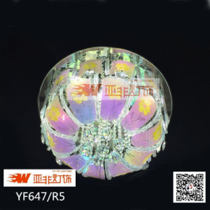2015 New Modern Crystal Ceiling Lamp with LED Remot Contol (YF647/R5)