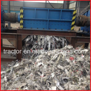 Double Shafts Plastic Bottles/Bags/Woven Bags/Waste Cloth Crusher Machine pictures & photos