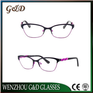 New Fashion Latest Frames Eyewear Eyeglass Optical Metal Frame pictures & photos