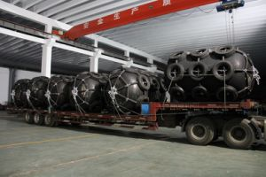 D3.3m*L6.5m Ship Used Pneumatic Marine Rubber Fender