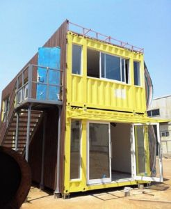 Container Home/Mobile Home/Prefabricated Home/Modular Home (SH101) pictures & photos