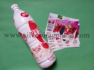 Pet Shrink Label for Bottled Drinks Packing pictures & photos