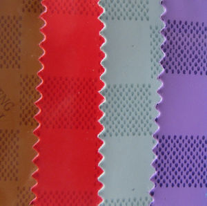 Patent Based PU Leather for Shoes and Bags (YS1505) pictures & photos