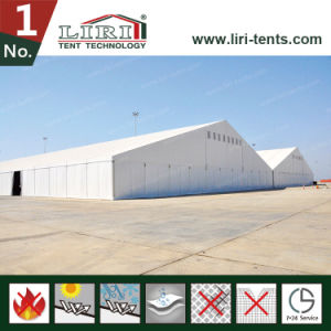 High Quality Aluminum Warehouse Tent with Plain White PVC Sidewalls for Temporary Use pictures & photos