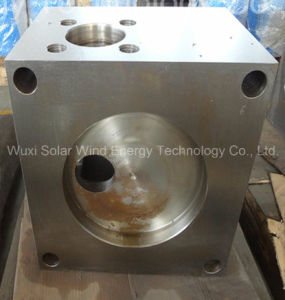 Stainless Steel Hydraulic Valve CNC Machining Part