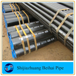 Carbon Steel API 5L Grb Smls Sch40 Steel Pipe pictures & photos