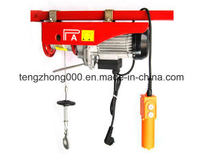PA200-1000 Electronic Cable Hoist Mini Wire Rope Hoist pictures & photos