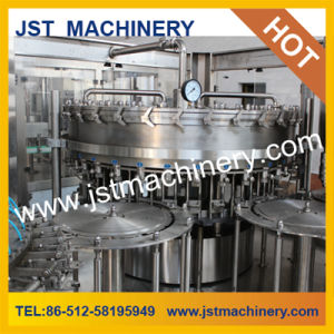 Gas Drink Filling Plant Pet Bottled Automatic Three in One pictures & photos
